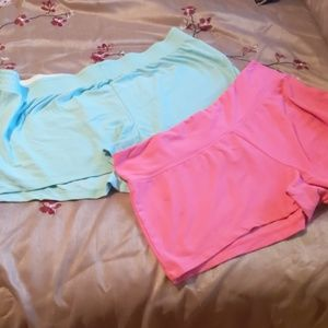 Two Pairs of Soft Lounge Shorts